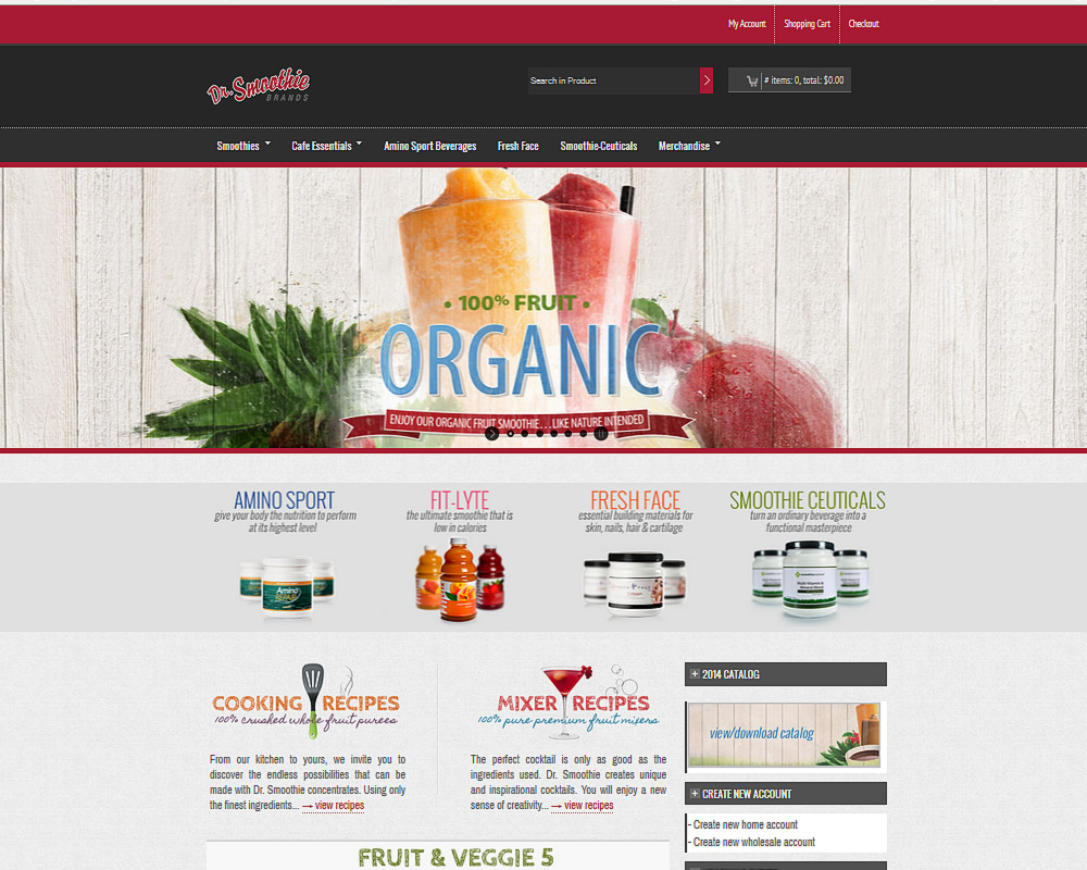 Dr Smoothie Brands