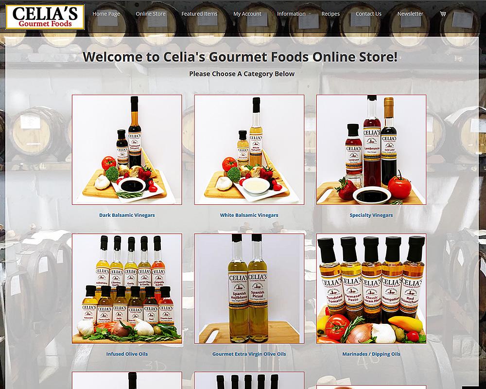Celia's Gourmet Foods
